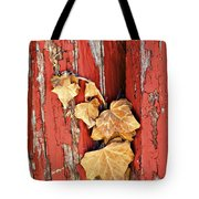 Aging Together Barn  Tote Bag