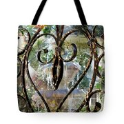 Aging With Time Tote Bag by Leslie Kell