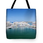 Agios Nikolaos Overview Tote Bag
