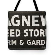 Agnew Seeds Roanoke Virginia Tote Bag