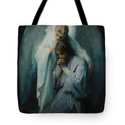 Agony In The Garden By Frans Schwartz, 1898 3 Tote Bag