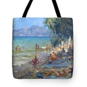 Agrilesa Beach Athens  Tote Bag