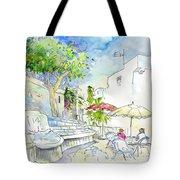 Agua Amarga 10 Tote Bag by Miki De Goodaboom