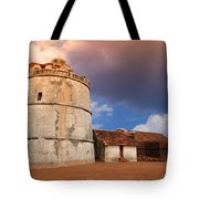 Aguada Fort Goa Tote Bag