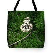 Aguished Leaf Tote Bag