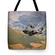 Agusta Merlin Flies The Loop  Tote Bag