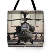 Ah-64d Apache Longbow At Pinal Airpark Tote Bag