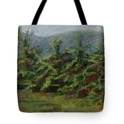 Ah The Apple Trees Tote Bag