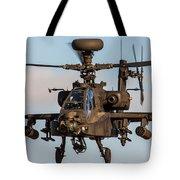 Ah64 Apache Flying Tote Bag by Ken Brannen