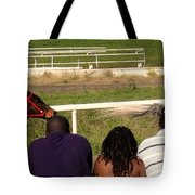 Ahead By Two Lengths Tote Bag