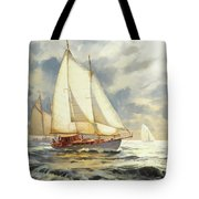 Ahead Of The Storm Tote Bag