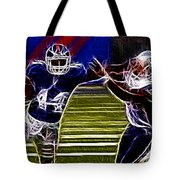 Ahmad Bradshaw Tote Bag by Paul Ward