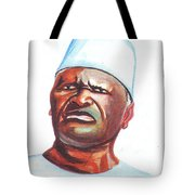 Ahmed Sekou Toure Tote Bag
