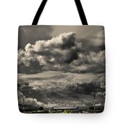 Ahuachapan Color And Infrared Tote Bag