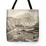 Ahuapuaa Lithograph Tote Bag