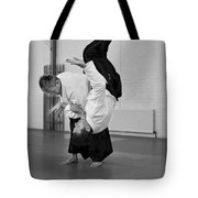 Aikido Up And Down Tote Bag
