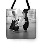 Aikido Wrist Lock  Tote Bag