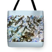 Air Bubbles Underwater - Abstract Tote Bag