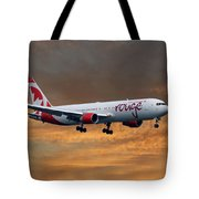 Air Canada Rouge Boeing 767-333 3 Tote Bag