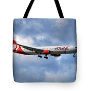 Air Canada Rouge Boeing 767-35h 118 Tote Bag