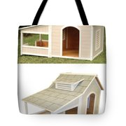 Air Conditioned Dog Houses Tote Bag