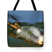 Air Conflicts Vietnam Front Tote Bag