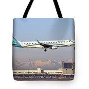 Air Dolomiti, Embraer Erj-195 Tote Bag