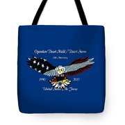 Air Force Desert Storm Tote Bag