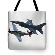 Air Force Heritage Flight Tote Bag