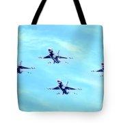 Air Force Thunderbirds Tote Bag