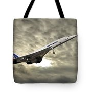 Air France Concorde 115 Tote Bag
