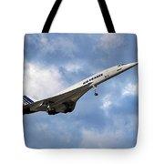 Air France Concorde 118 Tote Bag
