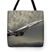 Air France Concorde 116 Tote Bag
