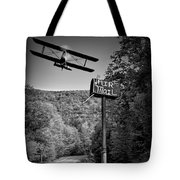 Air Mail Delivery Maine Style Tote Bag