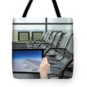 Air Travel Concept Tote Bag
