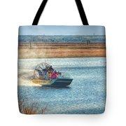 Airboat Rides Tote Bag