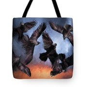 Airborne Unkindness Tote Bag