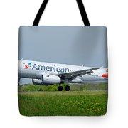 Airbus A319 Tote Bag