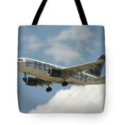 Airbus A320 Denver International Airport Tote Bag