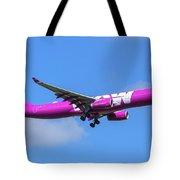 Airbus A330-343e Wow Air Tote Bag