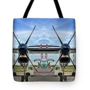 Aircraft Abstract Tote Bag