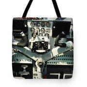 Aircraft Airplane Control Panel Tote Bag