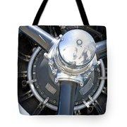Aircraft Engine Tote Bag