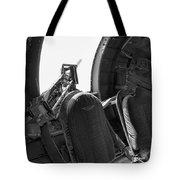 Aircraft Machine Gun Wwii Tote Bag