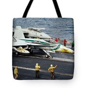 Aircraft Planes F18 Cat Tote Bag
