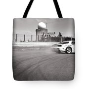 Airfield Drifting Tote Bag