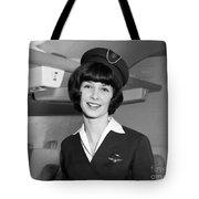 Airline Stewardess Tote Bag