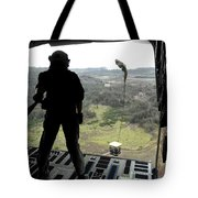Airman Watches A Practice Bundle Fall Tote Bag by Stocktrek Images
