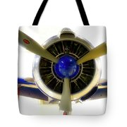 Airplane Propeller And Engine T28 Trojan 01 Tote Bag
