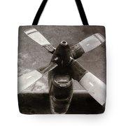 Dakota Airplane Propeller  Tote Bag